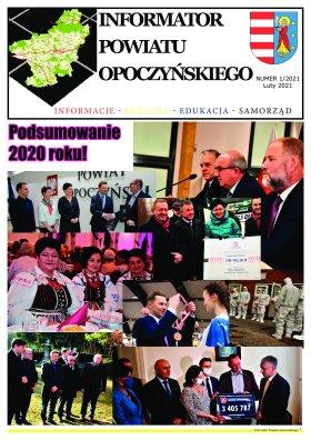 Informator Powiatu Opoczyńskiego 1/2021 strona 1