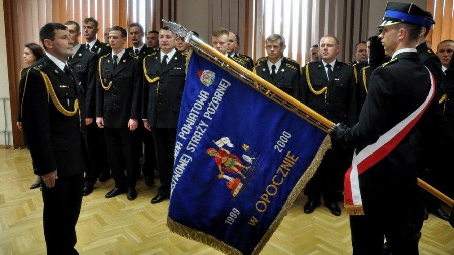 Uroczyste powołanie Komendanta Powiatowego PSP w Opocznie