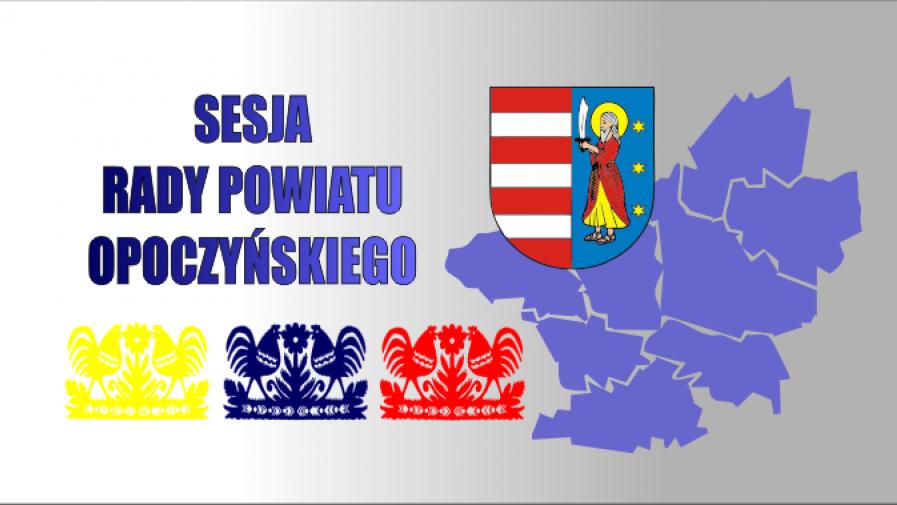 Zaproszenie na sesję Rady Powiatu Opoczyńskiego