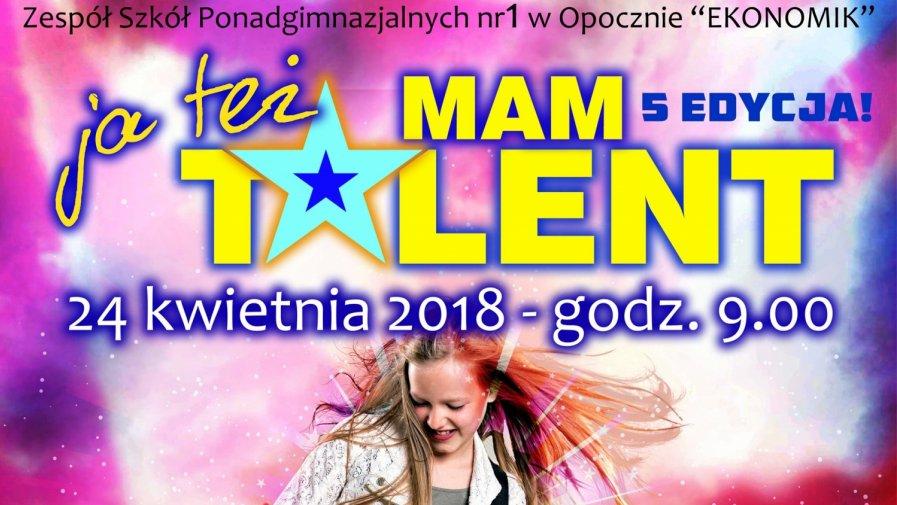 Ja Też Mam Talent 2018