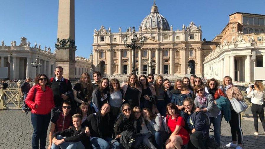 Uczniowie I LO we Włoszech