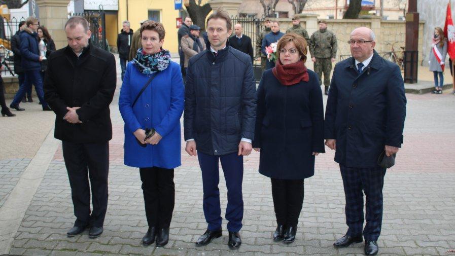 """Narodowy Dzień Pamięci """"Żołnierzy Wyklętych"""" w Opocznie"""