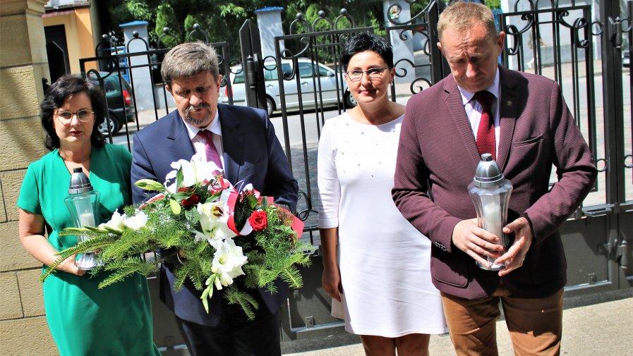 Po zakończeniu ceremonii wręczenia Grantów Sołeckich 2019, Marszałek Województwa Grzegorz Schreiber udał się z wizytą do Opoczna.