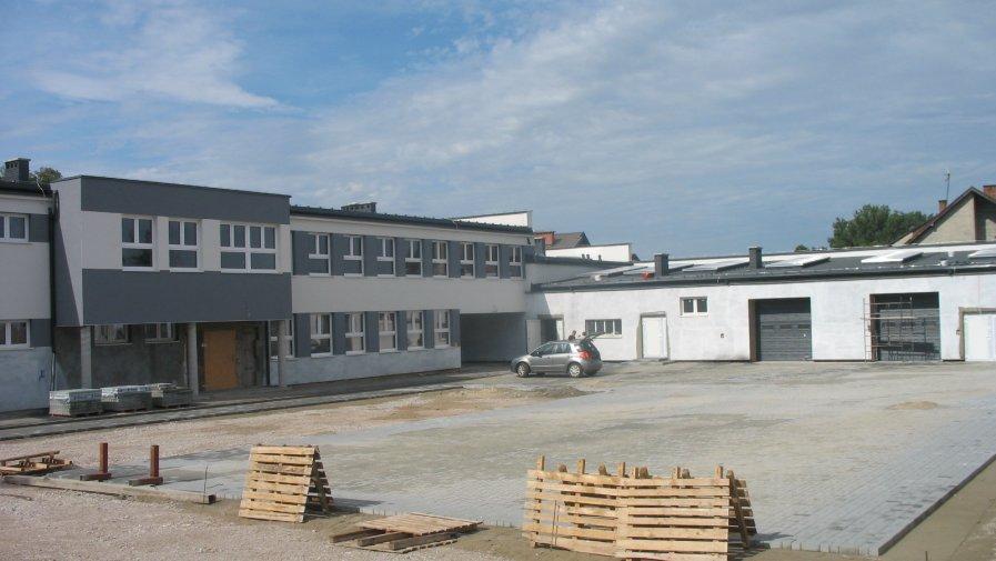 Warsztaty szkolne w Mroczkowie - kolejny etap inwestycji powiatowej