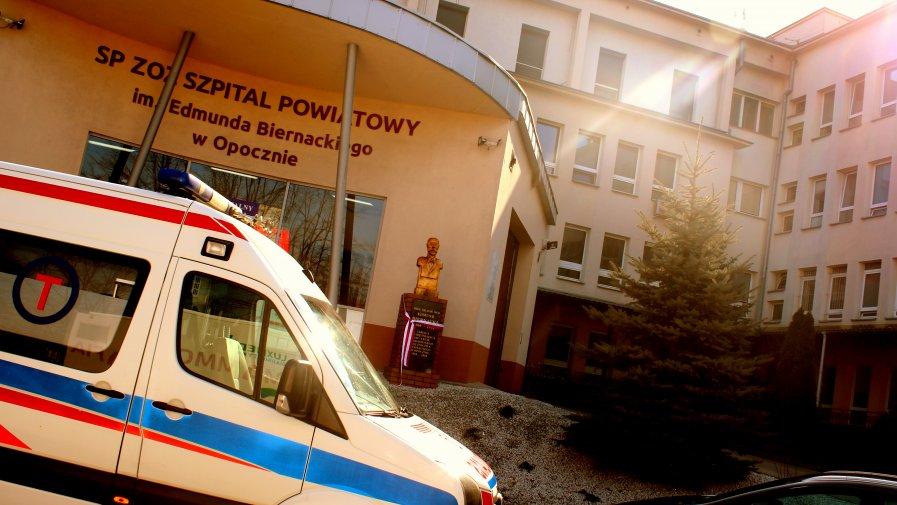 W trosce o pacjentów, zarząd Powiatu Opoczyńskiego przekazał kwotę 5.000 tyś zł na rzecz naszego Szpitala Powiatowego.