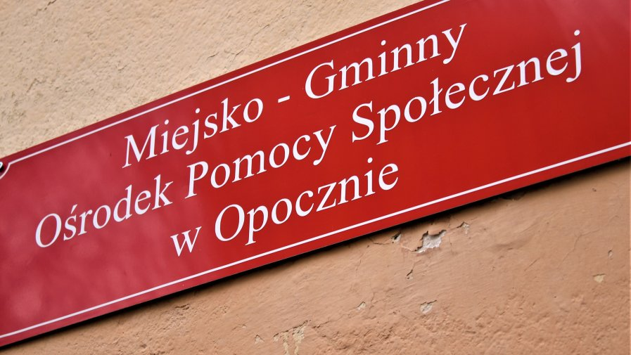 Niespodzianka dla pracowników MGOPS w Opocznie