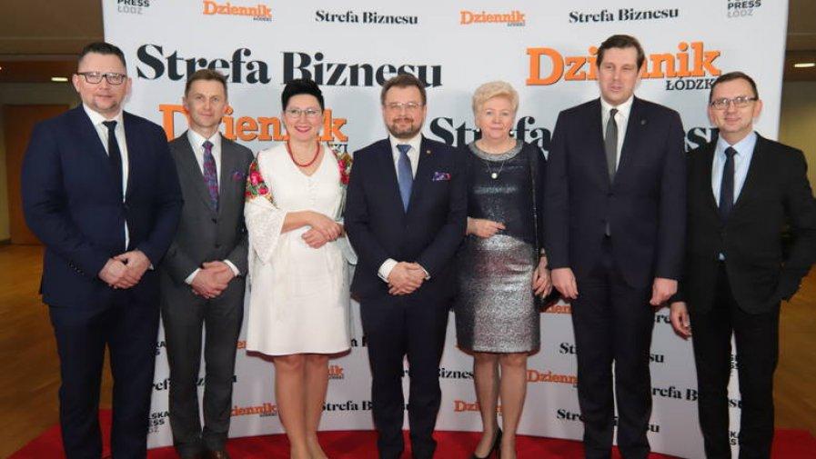 Specjalne zaproszenie dla Starosty Marcina Baranowskiego i Wicestarosty Marii Barbary Chomicz na Galę Finałową Menedżer Roku Regionu Łódzkiego 2019.