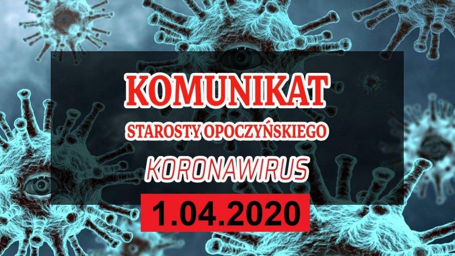 Szanowni Państwo na terenie naszego powiatu odnotowaliśmy kolejne 3 przypadki Koronawirusa.