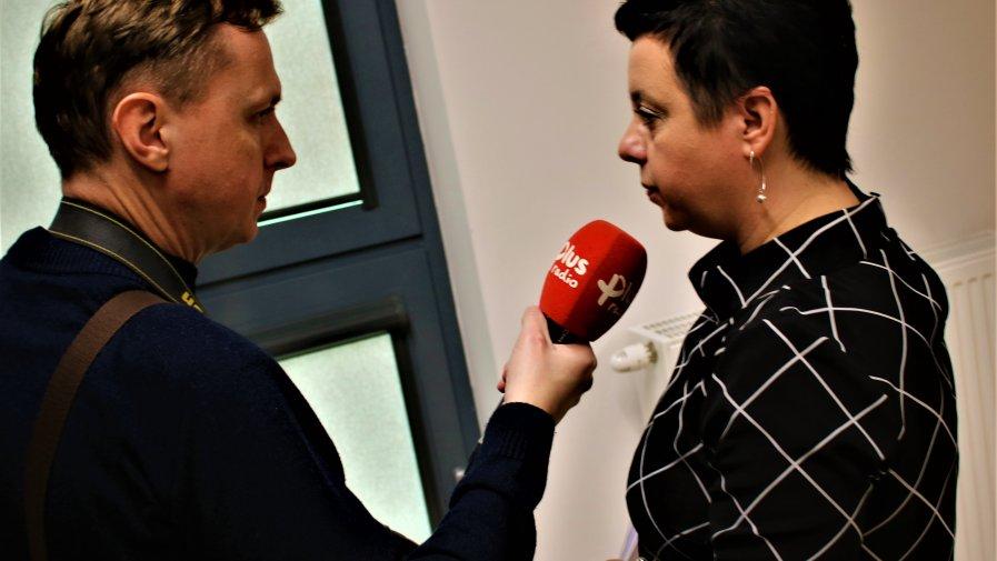"""Wywiad z Agnieszką Nalewczyńską - Dyrektor SOSW """"Centrum Edukacji i Rozwoju"""" im. Jana Pawła II w Opocznie."""