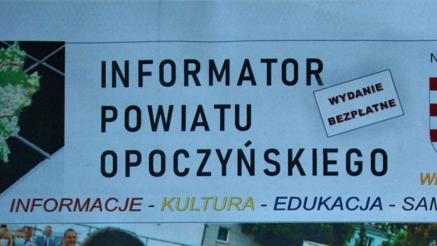 Informator Powiatu Opoczyńskiego teraz także online !