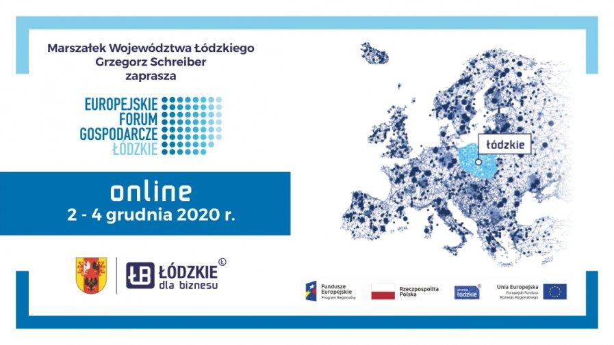 Europejskie Forum Gospodarcze – Łódzkie 2020 to cykliczne wydarzenie organizowane od kilkunastu lat przez Województwo Łódzkie. Wiedza, eksperci, praktycy – nie może Ciebie zabraknąć!