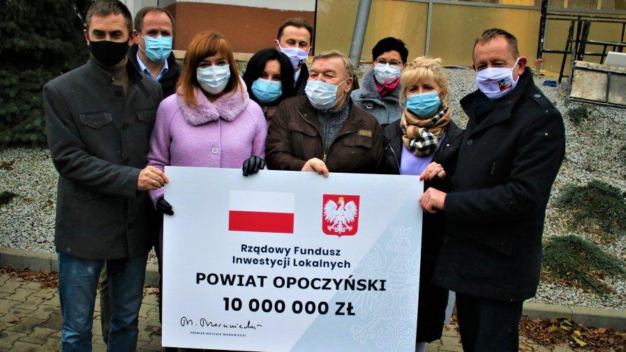 Blisko 15 milionów złotych dla naszego powiatu !