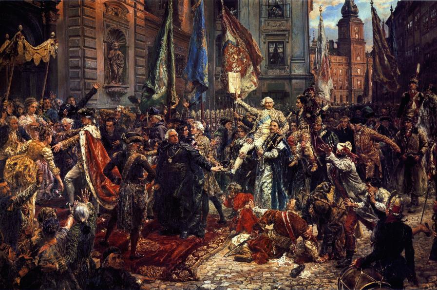 Konstytucja 3 maja 1791 roku, obraz Jana Matejki